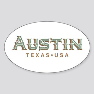 Retro Austin Sticker