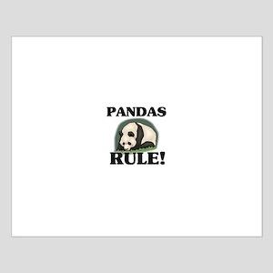 Pandas Rule! Small Poster