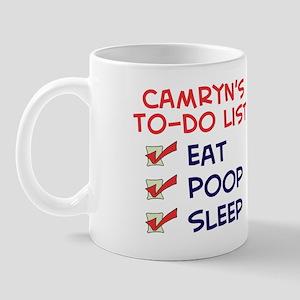 Camryn's To-Do List Mug