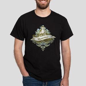 Buddha Myanmar Dark T-Shirt