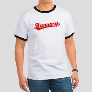 Retro Hungary (Red) Ringer T