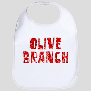Olive Branch Faded (Red) Bib