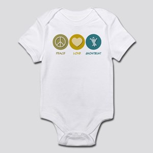 Peace Love Ghostbust Infant Bodysuit