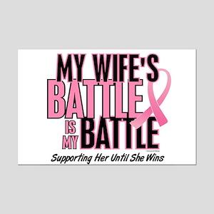 My Battle Too 1 (Wife BC) Mini Poster Print