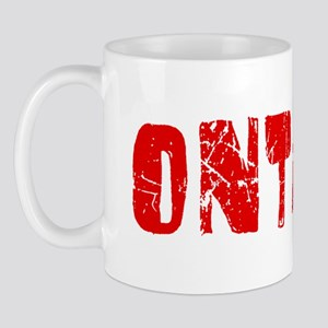 Ontario Faded (Red) Mug
