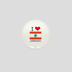 I Love Lebanon Mini Button