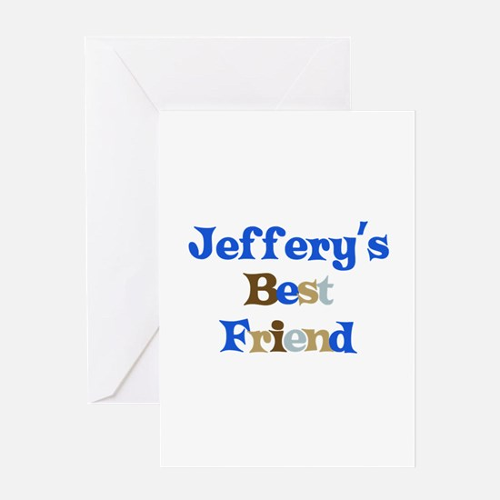 Jeffery's Best Friend Greeting Card