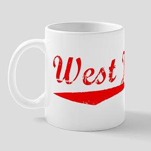 Vintage West Jordan (Red) Mug