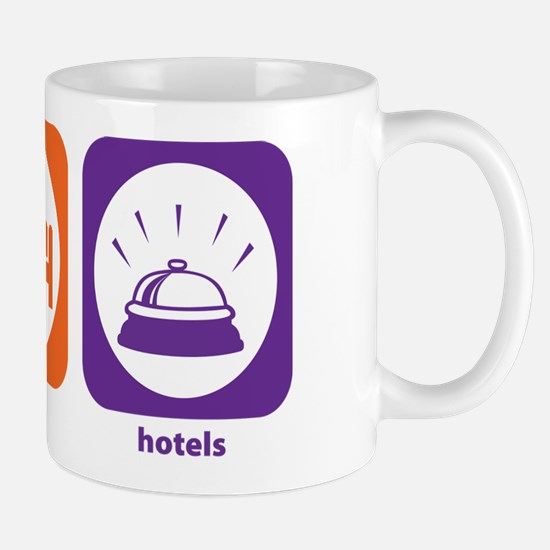 Eat Sleep Hotels Mug