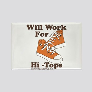 Will Work For Hi-Tops : Magnets