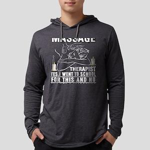 Massage Therapist T Shirt Long Sleeve T-Shirt