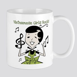 Vietnamese Girls Rock Mug