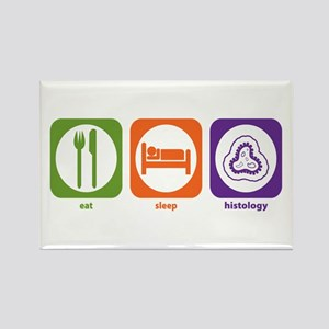 Eat Sleep Histology Rectangle Magnet