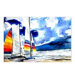 Catamarans Postcards (Package of 8)