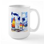Catamarans Large Mug
