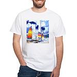 Catamarans White T-Shirt