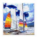Catamarans Tile Coaster