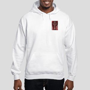 Cross/Clear/Red Leme/ Hooded Sweatshirt