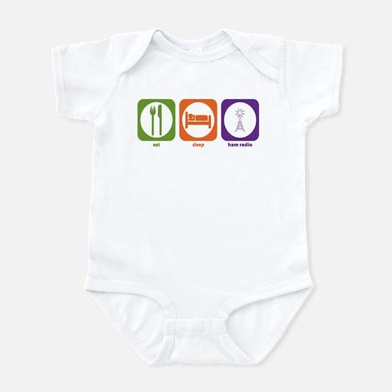 Eat Sleep Ham Radio Infant Bodysuit