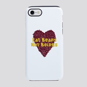 Eat Beans Not Beings iPhone 8/7 Tough Case