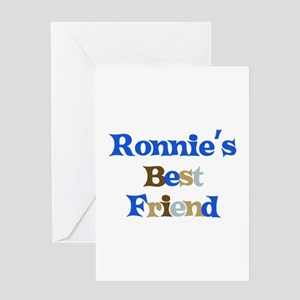 Ronnie's Best Friend Greeting Card