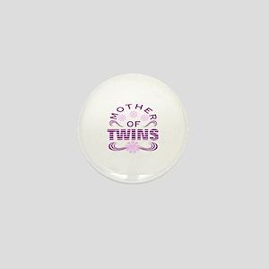 Twins mom Mini Button