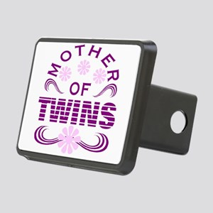 Twins mom Rectangular Hitch Cover