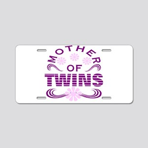 Twins mom Aluminum License Plate