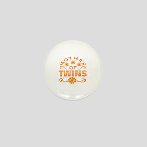 Mom of mtwins Mini Button