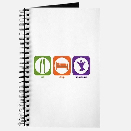 Eat Sleep Ghostbust Journal
