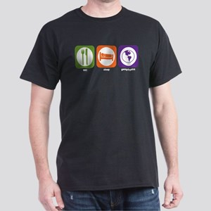 Eat Sleep Geophysics Dark T-Shirt