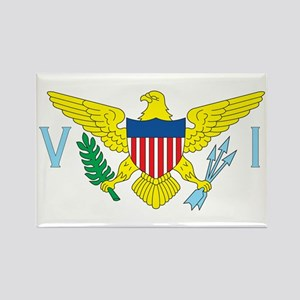 VIRGIN-ISLANDS-FLAG Rectangle Magnet