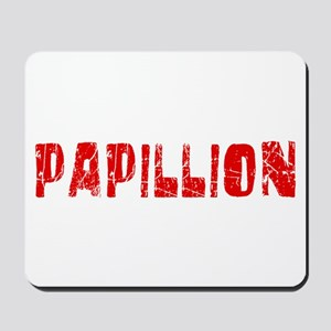 Papillion Faded (Red) Mousepad