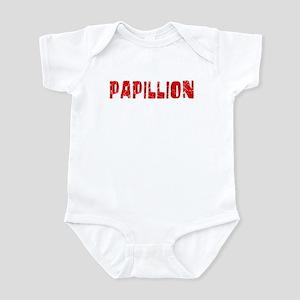 Papillion Faded (Red) Infant Bodysuit