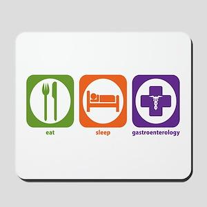 Eat Sleep Gastroenterology Mousepad