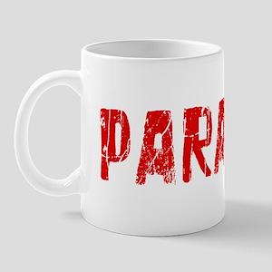 Paradise Faded (Red) Mug