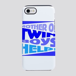 Twins mom iPhone 8/7 Tough Case