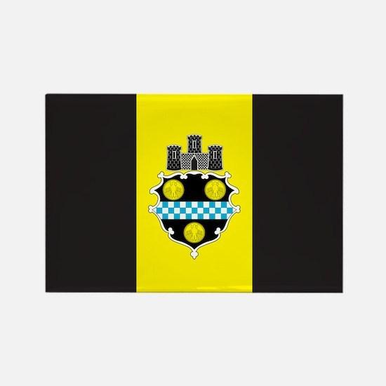 PITTSBURGH-FLAG Rectangle Magnet