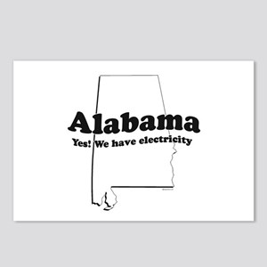 Alabama, Yes we have electricity ~  Postcards (Pac