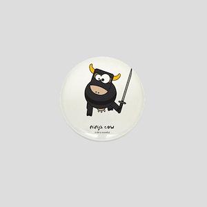 ninja cow Mini Button