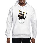ninja cow Hooded Sweatshirt