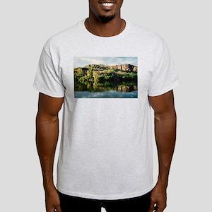 Red Lily Billabong, Kakadu Ash Grey T-Shirt