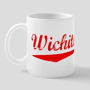 Vintage Wichita Fa.. (Red) Mug