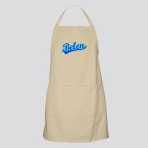Retro Belen (Blue) BBQ Apron
