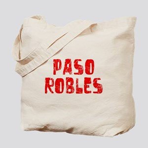 Paso Robles Faded (Red) Tote Bag