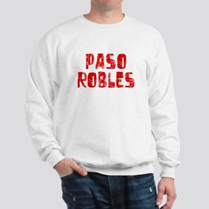 Paso Robles Faded (Red) Sweatshirt