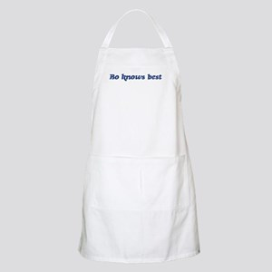Bo knows best BBQ Apron