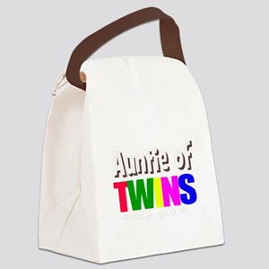 auntie twins Canvas Lunch Bag