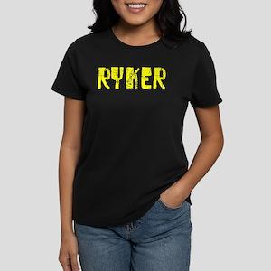 Ryker Faded (Gold) Women's Dark T-Shirt