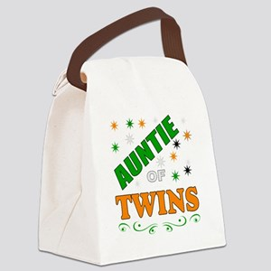 twins auntie Canvas Lunch Bag